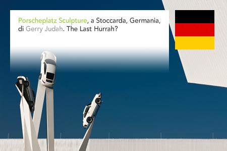 Gerry Judah, Porscheplatz Sculpture, Porsche, Zuffenhausen, Stuttgart, Germany