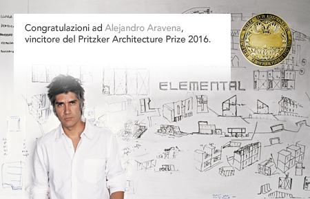 Alejandro Aravena, Pritzker Architecture Prize 2016