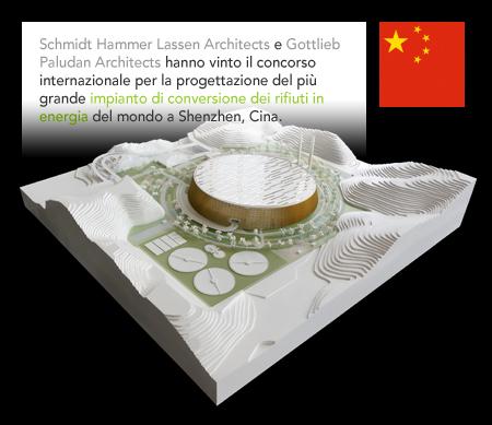 Schmidt Hammer Lassen Architects, Gottlieb Paludan Architects, Waste-to-Energy Plant, Shenzhen, China