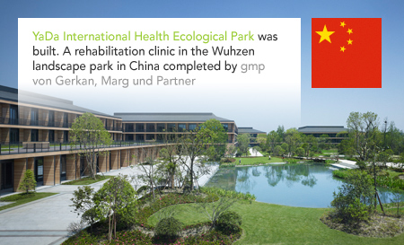 YaDa International Health Ecological Park, Wuzhen, China, gmp, von Gerkan Marg und Partner