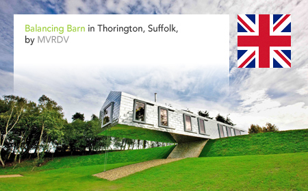 MVRDV, Balancing Barn, Living Architecture, Thorington, Suffolk, Mole Architects