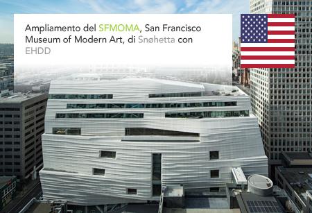 SFMOMA, San Francisco Museum of Modern Art, Snøhetta, Craig Dykers, EHDD, Magnusson Klemencic Associates, California