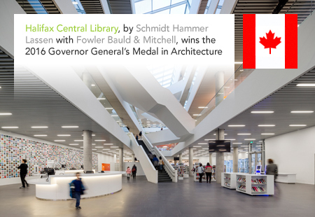 Halifax Central Library, Nova Scotia, Canada, Schmidt Hammer Lassen, Fowler Bauld & Mitchell