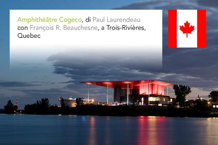 Paul Laurendeau, François R. Beauchesne, Amphithéâtre Cogeco, Trois-Rivieres, Quebec, Canada