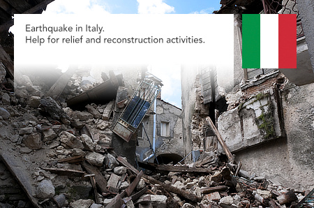 Earthquake, Italy, 2016