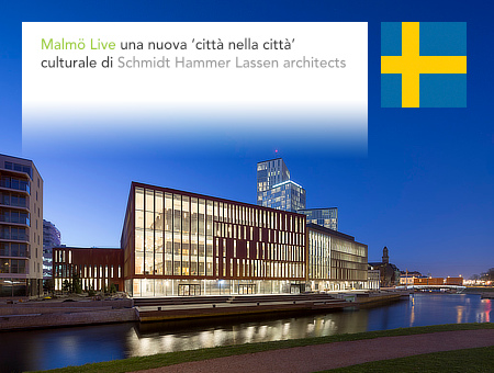 Schmidt Hammer Lassen, Malmö Live, Counterpoint, SLA, Malmoe, Sweden