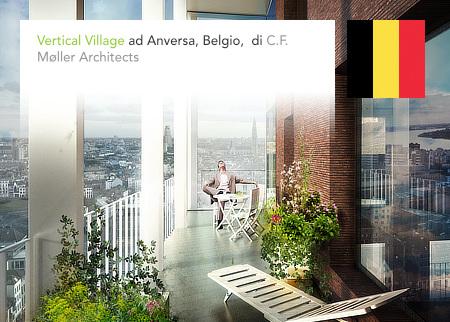C.F. Møller, Brut Architecture and Urban Design, ABT België NV, Vertical Village, Antwerpen, Flanders, Belgium