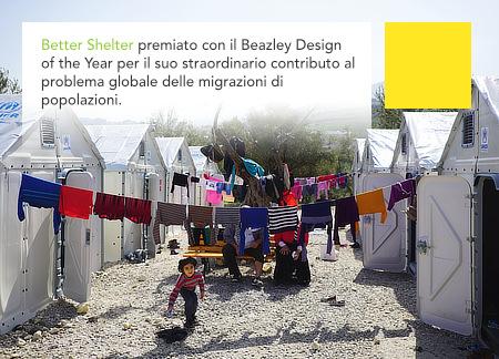 2017 Beazley Design of the Year, Better Shelter, Johan Karlsson, Design Museum