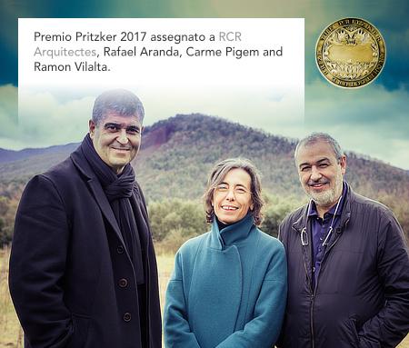 Pritzker Architecture Prize 2017, RCR Arquitectes, Rafael Aranda, Carme Pigem, Ramon Vilalta
