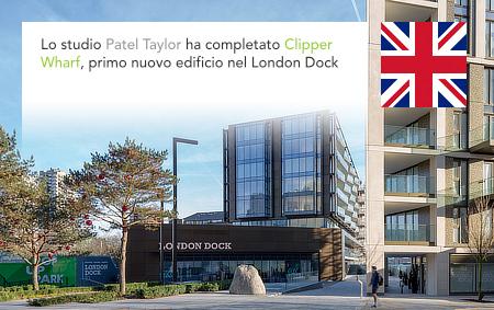 Patel Taylor, Clipper Wharf, London Dock, St George, Pankaj Patel, Andrew Taylor