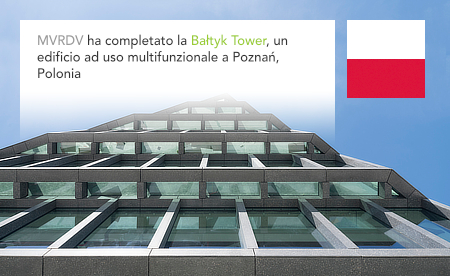 MVRDV, Baltyk Tower, Poznan, Poland, Polska, Natkaniec Olechnicki Architekci, Akon