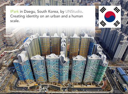 UNStudio, Ben van Berkel, IPark, Hyundai, Daegu, South Korea, Lodewijk Baljon landschapsarchitecten