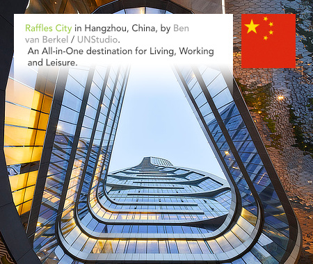 UNStudio, Ben van Berkel, Raffles City, Hangzhou, China, Arup