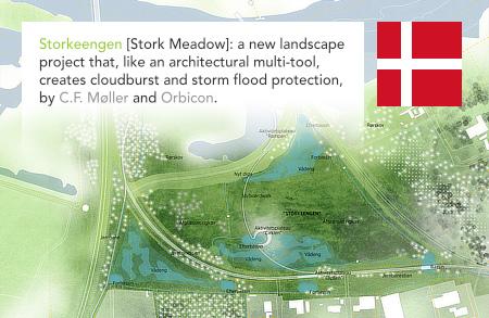 C.F. Møller, Orbicon, Storkeengen, Stork Meadow, Randers, Vorup, Denmark