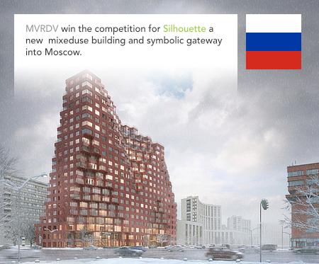 MVRDV, Silhouette, Moscow, Russia, GK Osnova