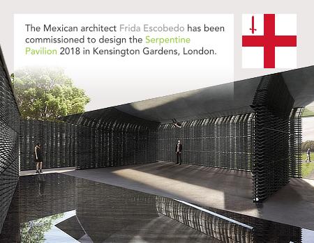 Frida Escobedo, Serpentine Gallery Pavilion 2018, London, Kensington Garden, Hyde Park
