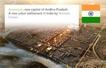 Amaravati Government Complex, Norman Foster, Foster + Partners, Andhra Pradesh, India