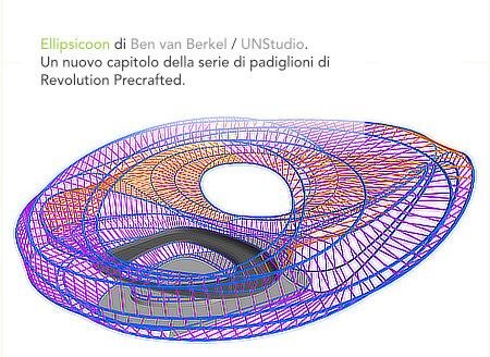 Ellipsicoon, UNStudio, Ben van Berkel, Revolution Precrafted