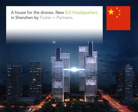 Foster + Partners, DJI Headquarters, Dajiang, Grant Brooker, Shenzhen, China