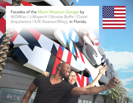 Miami Museum Garage, WORKac, J. Mayer H., Nicolas Buffe, Clavel Arquitectos, K/R, Florida