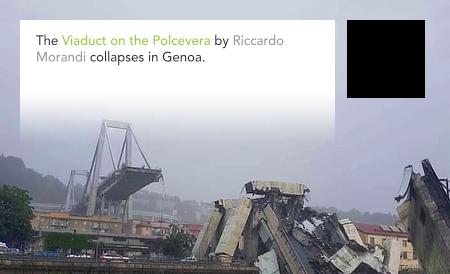 Riccardo Morandi, Viadotto Polcevera, Genova, Italy, Genoa
