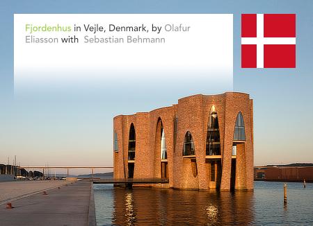 Fjordenhus, Olafur Eliasson, Sebastian Behmann, Studio Olafur Eliasson, Vejle, Denmark, Kirk Kapital