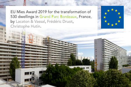 Lacaton & Vassal, Frédéric Druot, Christophe Hutin, Grand Parc Bordeaux, Transformation of 530 dwellings, Aquitaine, France