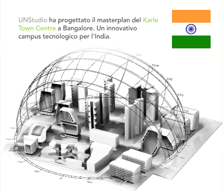 UNStudio, Ben van Berkel, Karle Town Centre, Bangalore, India, BALJON Landscape Architects, Ross Bonthorne