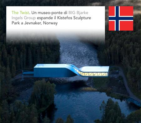 BIG, Bjarke Ingels Group, The Twist, Kistefos Museum, Jevnaker, Oslo, Norway