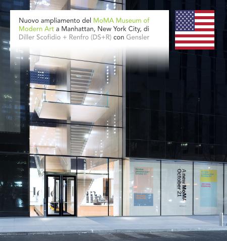 Diller Scofidio + Renfro, DS+R, Elizabeth Diller, MoMA, Museum of Modern Art, New York City, Gensler