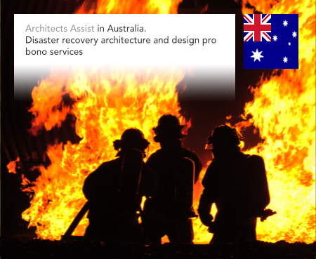 Architects Assist, Australia, Fire