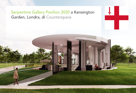 Counterspace, Serpentine Gallery Pavilion 2019, London, Kensington Garden, Hyde Park