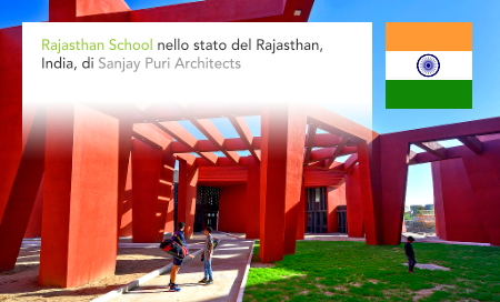 Sanjay Puri Architects, The Rajasthan School, RAS, Rajasthan Administrative Service, Rajasthan, India, Beawar