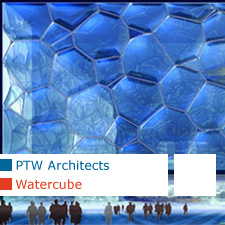 ptw architects watercube beijing