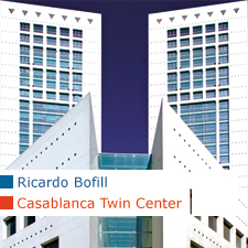 Ricardo Bofill Casablanca Twin Center