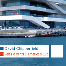 David Chipperfield Veles e Vents America's Cup Valencia