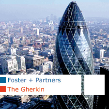 Foster + Partners The Gherkin London