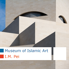 I.M. Pei Museum of Islamic Art Doha Qatar