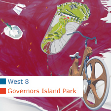 West 8 Governors Island Park