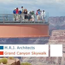 MRJ architects Grand Canyon Skywalk
