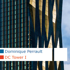 Dominique Perrault DC Tower Vienna Donau-City