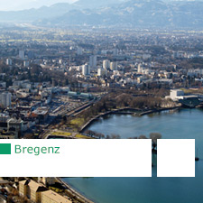 Itinerary of contemporary architecture in Bregenz