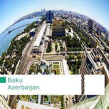 Baku contemporary architecture itinerary, Azerbaijan, Architectour